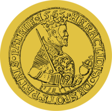 Heraclid Despot, effigy on thaler, 1563.png
