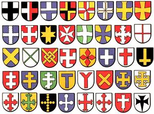 Crosses In Heraldry Wikipedia