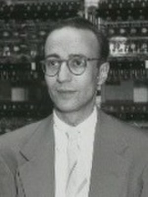Herman Goldstine - Herman Goldstine at Princeton Institute for Advanced Study.