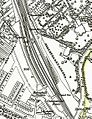 Herne Hill railway OS Map 1870.jpg
