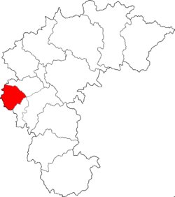 Location of Heungdeok-gu