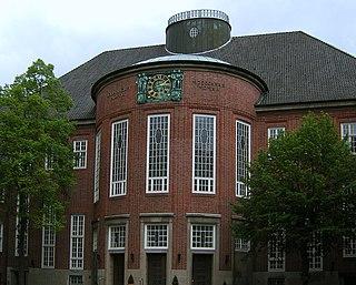 Gelehrtenschule des Johanneums grammar school in Hamburg, Germany