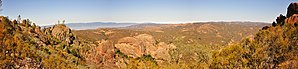 Pinnacles National Park - A view from the High Peaks Trail