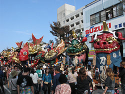 Karatsu Kunchi in November 3, and famous for festival in Kyushu