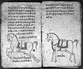 Hindi Manuscript 191, fols. 28 verso, 29 rec Wellcome L0024221.jpg