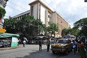Mahatma Gandhi Road (Kolkata) - Hindu School— it is located in College Street, adjacent to Mahatma Gandhi Road