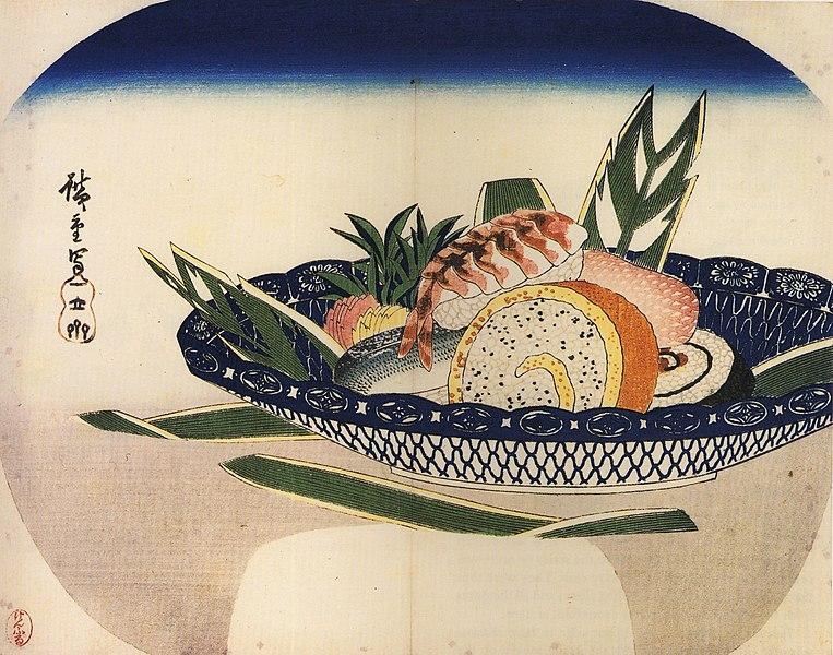 Hiroshige Bowl of Sushi