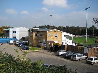 Bridge Road (Impington) Football stadium in Cambridgeshire, England