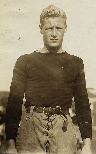 Hobey Baker - Baker while a member of the Princeton football team