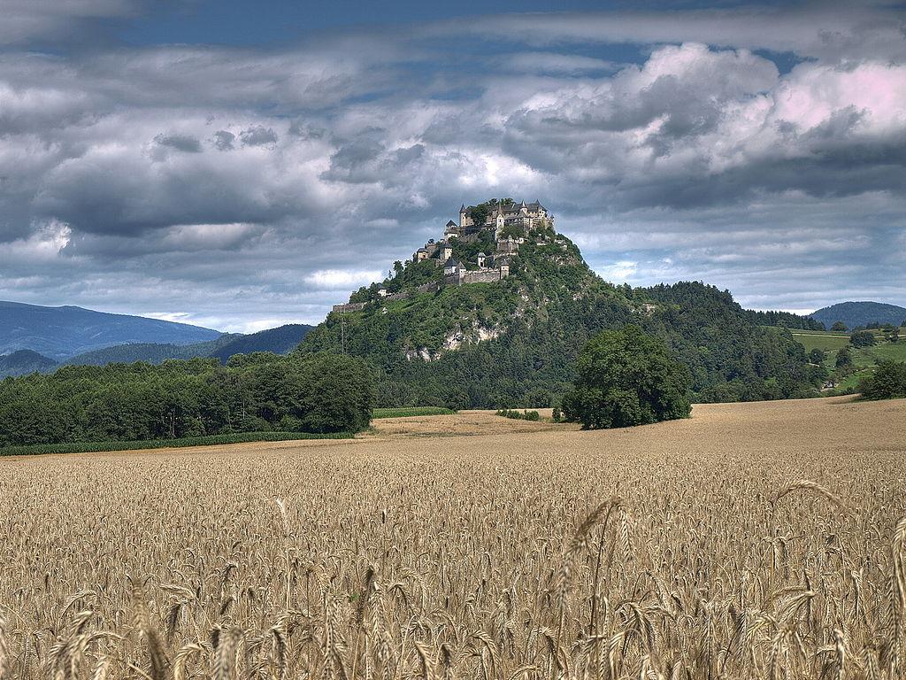 Burg Hochosterwitz (Kandidat für das UNESCO-Welterbe in Kärnten)