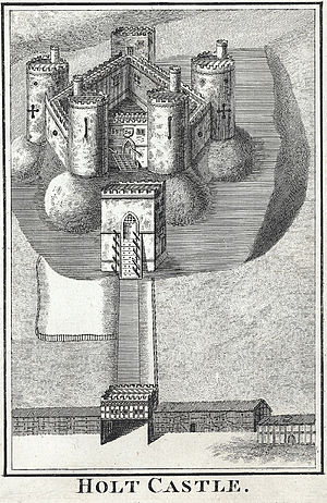 Peter Mazell - Holt Castle by Mazell, Peter, 1779