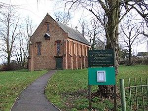 Spooner Row - Image: Holy Trinity Church Spooner Row(Ian Robertson)Feb 2007
