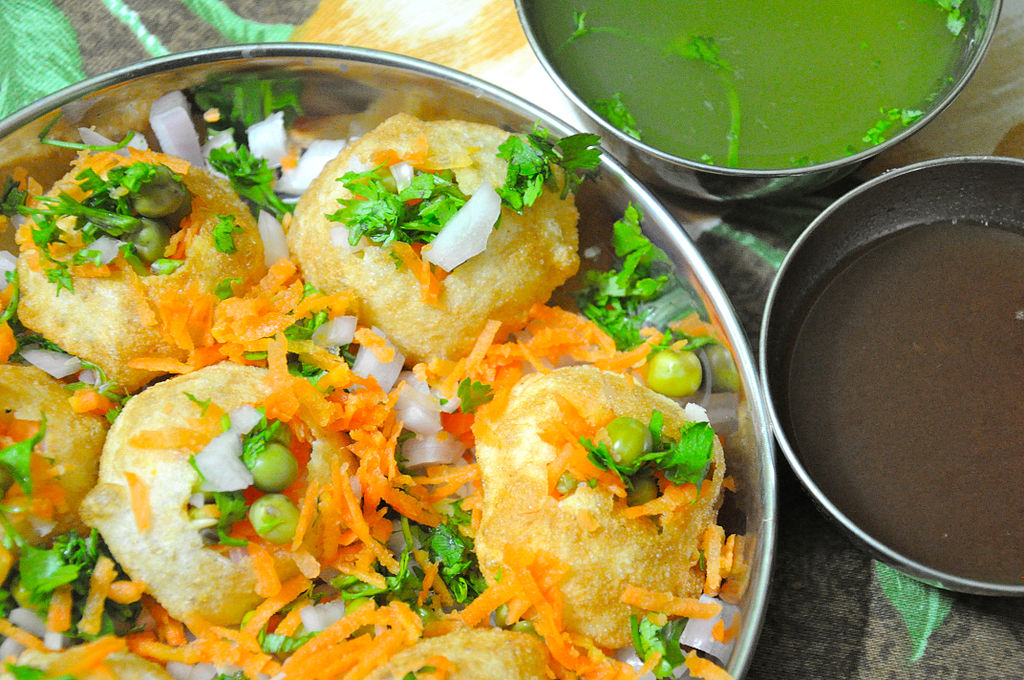 Home made Indian Panipuri