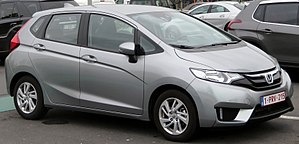 Honda Fit - Image: Honda Jazz at B Park (cropped)