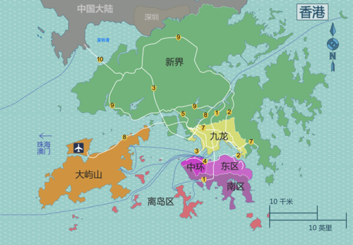 Hong Kong districts map-香港分區地圖 (zh-hans).png