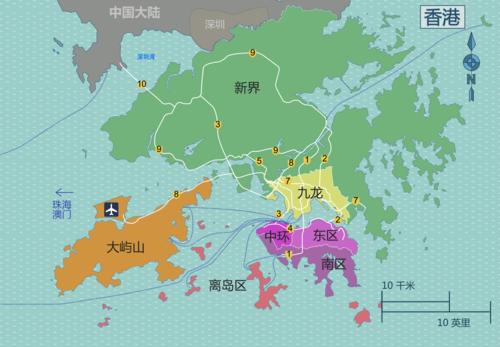 香港黄大仙区地图_香港 - 来自维基导游的旅行指南