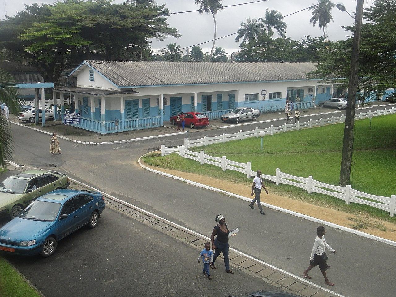 Hopital Laquintinie a Douala.JPG