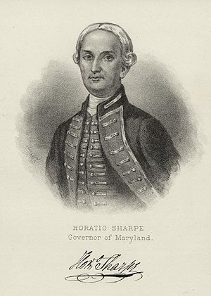 Horatio Sharpe - Horatio Sharpe