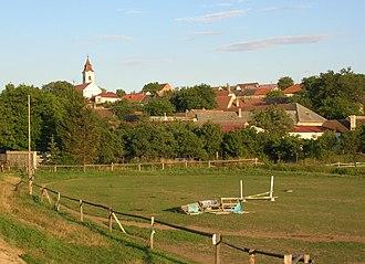 Horní Újezd (Třebíč District) - Image: Horni ujezd tr global