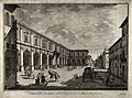 Hospital of Santa Maria Nuova, Florence, Italy. Etching by B Wellcome V0014713.jpg