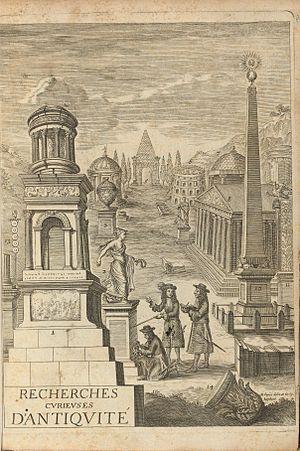 Jacob Spon - 1683 edition of Recherches curieuses d'antiquité