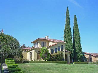 Naglee Park, San Jose - The eastern part of Naglee Park has is characterized by mansions and large homes.