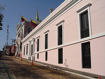 Casa del Congreso de Angostura, Ciudad Bolívar, Venezuela
