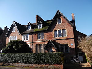 Bradmore Road - Image: Houses in Bradmore Road, Oxford