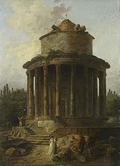 Un temple circulaire jadis dédié à Vénus
