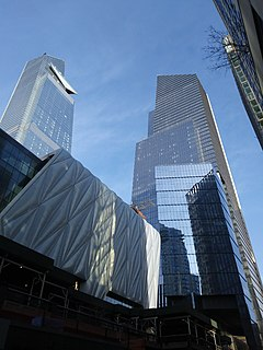 10 Hudson Yards office building in Manhattans West Side