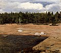 Hugo Simberg - The Beach, Niemenlautta - A-1992-250 - Finnish National Gallery.jpg
