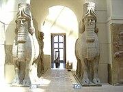Human-headed Winged Bulls Gate Khorsabad - Louvre 01a