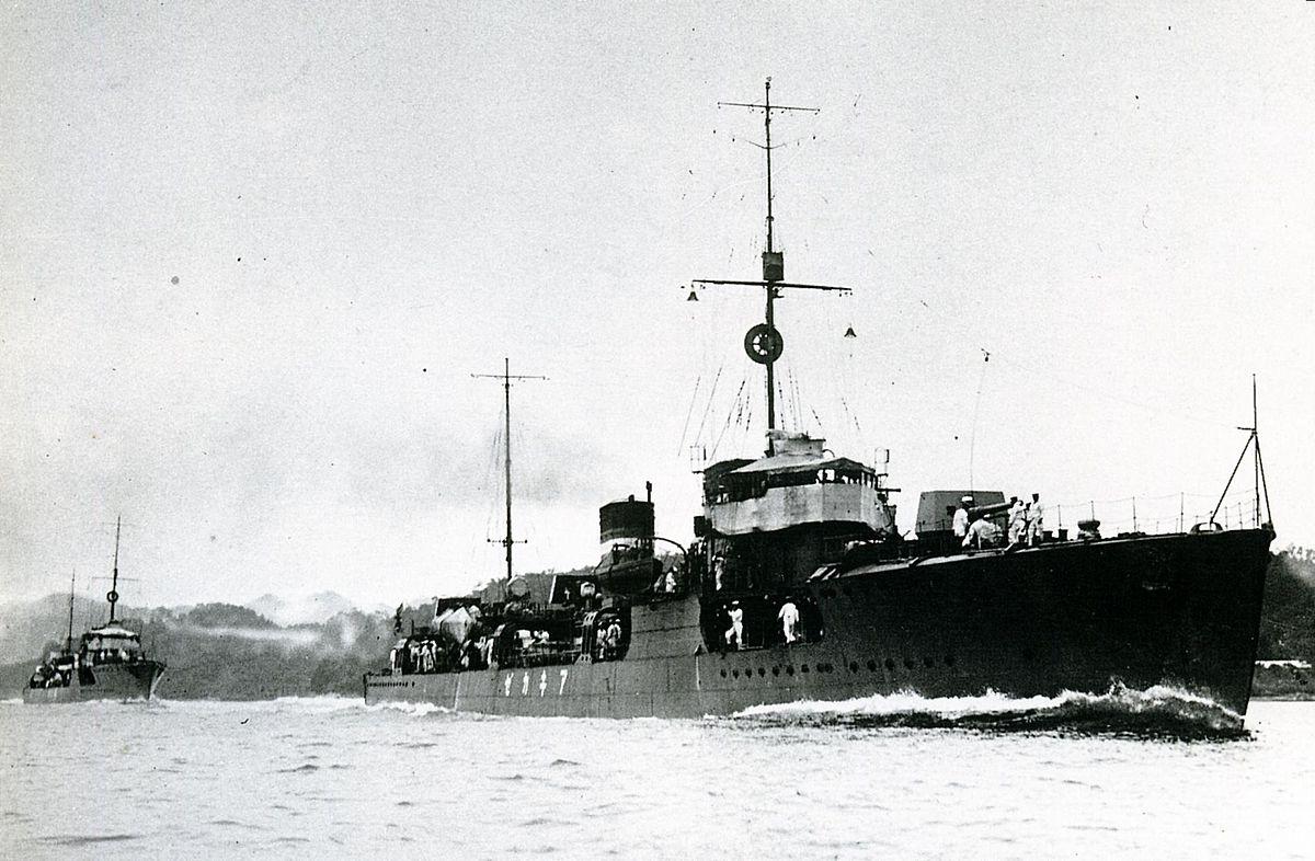 Japanese destroyer Akikaze - Wikipedia