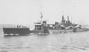 IJN DD Shiokaze and BC Kongo in 1924.jpg