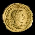 INC-1856-a Ауреус Гордиан III ок. 241-243 гг. (аверс).png