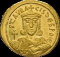 INC-1870-r Солид. Никифор I и его сын Ставракий. Ок. 803—811 гг. (реверс).png