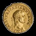 INC-2061-a Ауреус. Веспасиан. Ок. 71 г. (аверс).png
