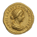 INC-2063-a Ауреус. Луцилла. Ок. 164—169 гг. (аверс).png