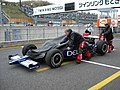 INDY Japan 300mile 2008, Motegi paddock.JPG