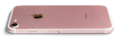 IPhone 7 - A1778 Rose Gold - Back Right - Transparent BG with shadow.png