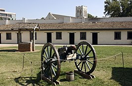 Sutter's Fort State Historic Park in 2002