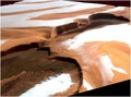 Ice and dust at Martian north pole ESA224220.tiff