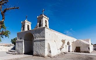 Calama, Chile - Image: Iglesia de San Francisco, Chiu Chiu, Chile, 2016 02 01, DD 88