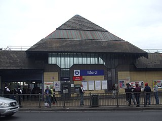 Ilford railway station