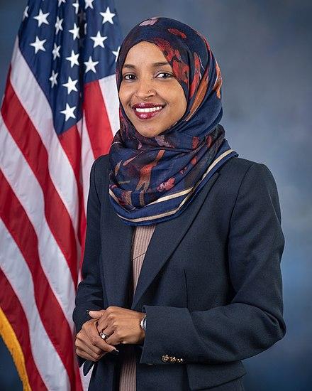 Ilhan Omar%2C official portrait%2C 116th Congress.