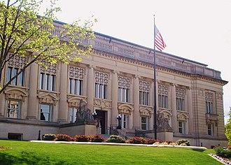 Judiciary of Illinois - The Illinois Supreme Court building in Springfield