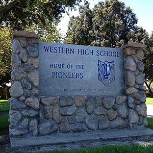 Western High School (Anaheim, California)