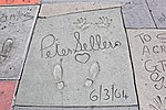 Impronte di Peter Sellers al TCL Chinese Theatre - Los Angeles - USA - agosto 2011.jpg