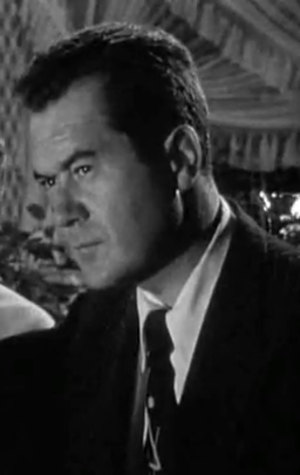 Frank Lovejoy - Frank Lovejoy as Det. Sgt. Brub Nicolai in In a Lonely Place.