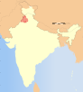 India Punjab locator map.svg